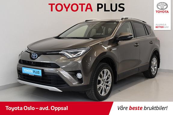 Toyota RAV4 Hybrid AWD Executive Toppmodell!  2016, 55713 km, kr 374900,-