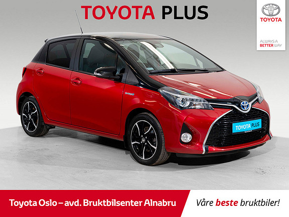 Toyota Yaris 1,5 Hybrid Active BiTone e-CVT  2016, 33583 km, kr 179900,-