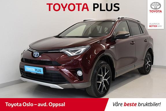Toyota RAV4 Hybrid AWD Active Style Flextone  2016, 40477 km, kr 368900,-