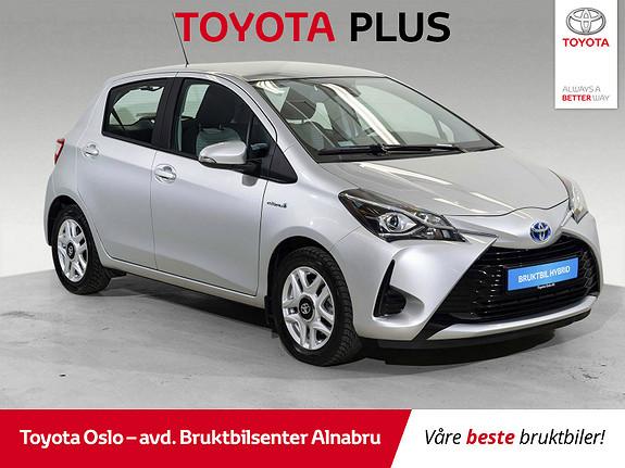 Toyota Yaris 1,5 Hybrid Active Go e-CVT aut Automat, DAB+,  2018, 27450 km, kr 199900,-