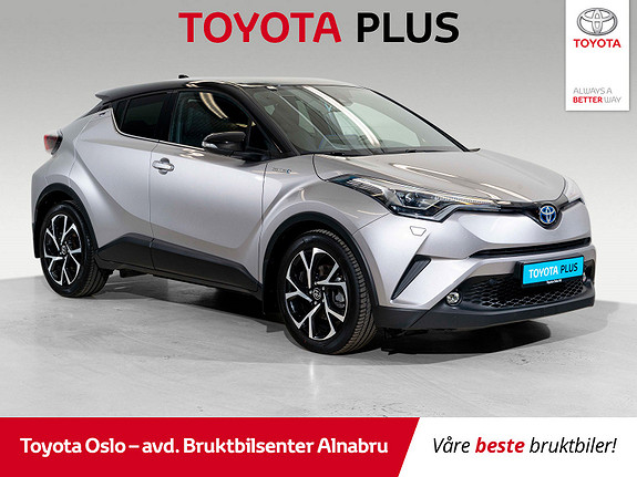 Toyota C-HR 1,8 WT-i Hybrid Dynamic Tech  2017, 25222 km, kr 324900,-
