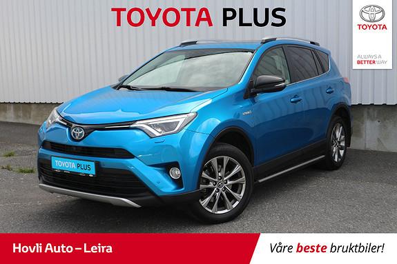 Toyota RAV4 Hybrid AWD Executive // Elektrisk soltak // Stigtrinn  2016, 74200 km, kr 359900,-