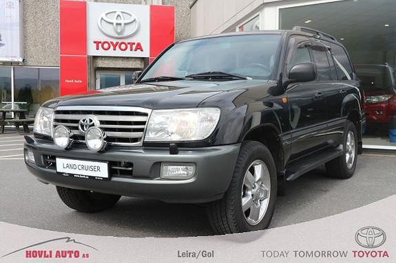 Toyota Land Cruiser 100 4,2 TDI aut Sandblåst og Tectyl 2019  2006, 216052 km, kr 399900,-