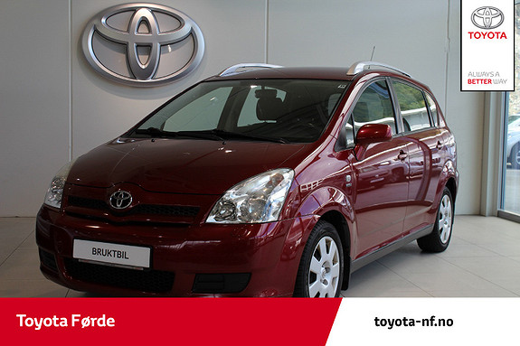 Toyota Corolla Verso 1,8 Business  2004, 218885 km, kr 39000,-