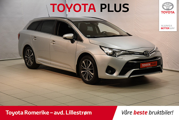 Toyota Avensis Touring Sports 1,8 Active M-drive 7S m/Hengerfeste  2016, 49 545 km, kr 249 000,-