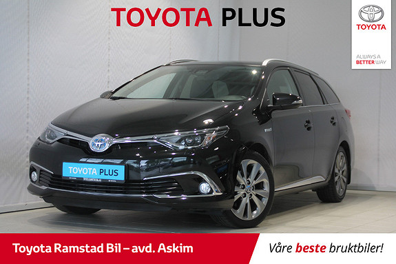 Toyota Auris Touring Sports 1,8 Executive Toppmodell  2015, 52 840 km, kr 215 000,-