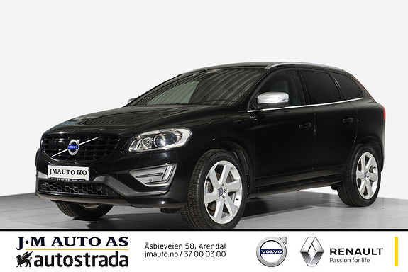 Volvo XC 60 D4 2,4D R-Design AWD aut MEGET GODT UTSTYRT!