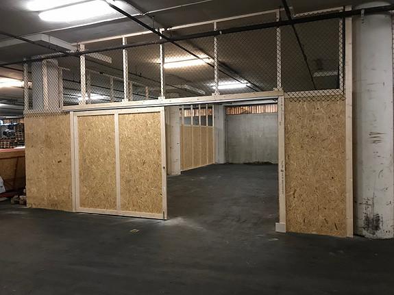 Lagerbur fra 21 m2 og oppover