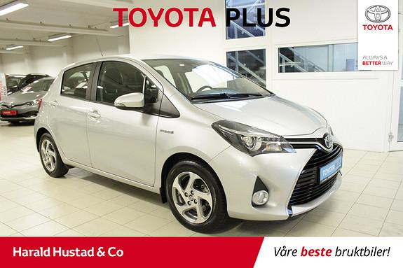 Toyota Yaris 1,5 Hybrid Active S e-CVT  2016, 7451 km, kr 179000,-