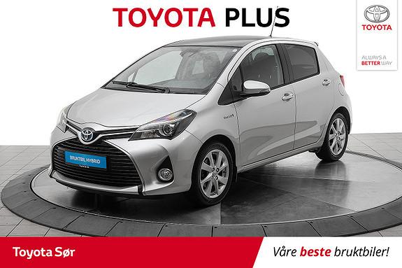 Toyota Yaris 1,5 Hybrid Style m/panoramatak  2016, 18600 km, kr 179000,-
