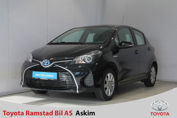 Toyota Yaris 1,5 Hybrid Active e-CVT  2015, 85000 km, kr 129000,-