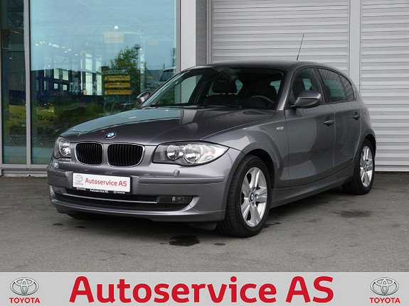 BMW 1-serie 116d (90hk) LE NB: LAV KM  2011, 70000 km, kr 119000,-