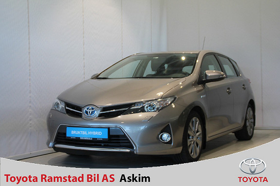 Toyota Auris 1,8 Hybrid E-CVT Active Go navi  2013, 52000 km, kr 159000,-