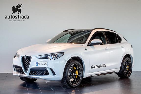 Alfa Romeo Stelvio Quadrifoglio, Topputstyrt