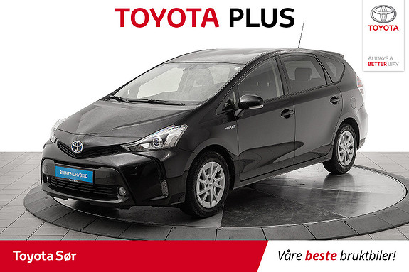 Toyota Prius+ Seven 1,8 VVT-i Hybrid Executive 7-seter  2016, 38000 km, kr 279000,-