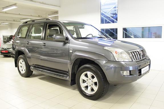 Toyota Land Cruiser 3,0 D-4D Aut 8 seter  2008, 179000 km, kr 309000,-