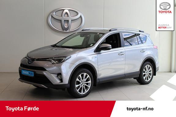 Toyota RAV4 Hybrid 4WD Executive 197HK, Hengarfeste  2017, 59491 km, kr 429000,-