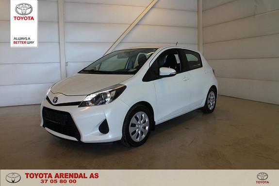Toyota Yaris 1,5 Hybrid Active Velholdt og pen  2013, 75000 km, kr 119000,-