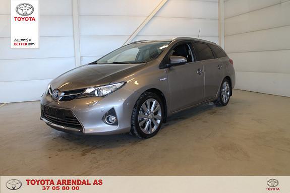 Toyota Auris Touring Sports 1,8 Hybrid Executive Toppmodell Lav KM  2013, 50500 km, kr 159000,-