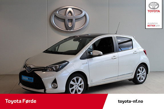 Toyota Yaris 1,5 Hybrid Style e-CVT 100hk  2015, 105863 km, kr 159000,-