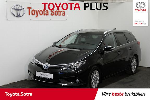Toyota Auris 1,8 Hybrid E-CVT Active Sport Stasjonsvogn  2017, 48269 km, kr 239000,-