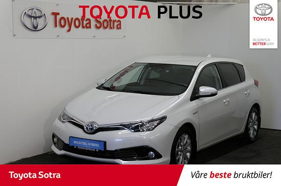 Toyota Auris 1,8 Hybrid E-CVT Active  2017, 51196 km, kr 229000,-