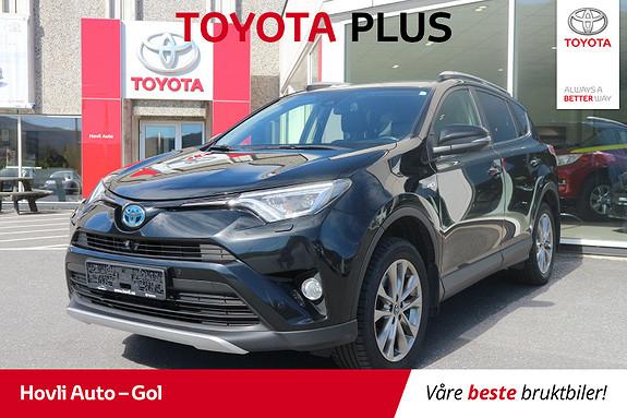 Toyota RAV4 Hybrid 4WD Executive En eier//Navi//Skinn//DAB+  2016, 94570 km, kr 389900,-