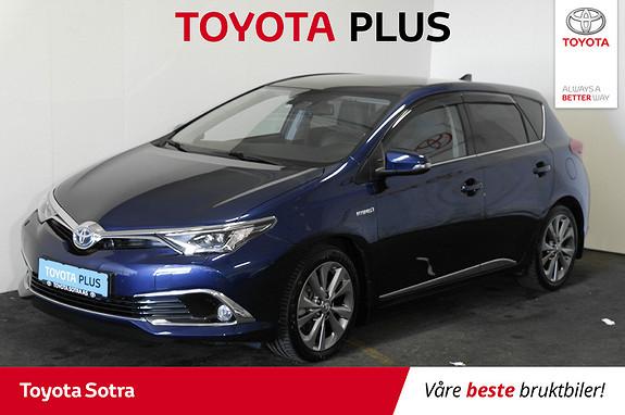 Toyota Auris 1,8 Hybrid E-CVT Executive  2015, 61612 km, kr 209000,-