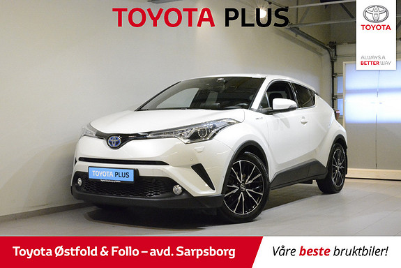 Toyota C-HR 1,8 WT-i Hybrid Supreme  2017, 17600 km, kr 308000,-