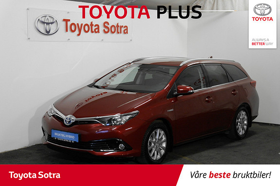 Toyota Auris 1,8 Hybrid E-CVT Active Sport  2017, 33500 km, kr 249000,-