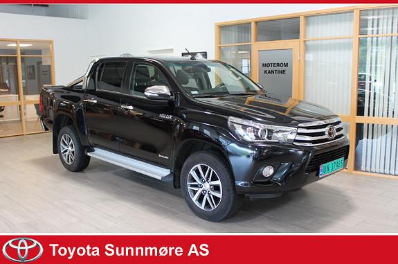 Toyota HiLux D-4D 150hk D-Cab 4WD SR+ aut  2018, 9476 km, kr 399000,-