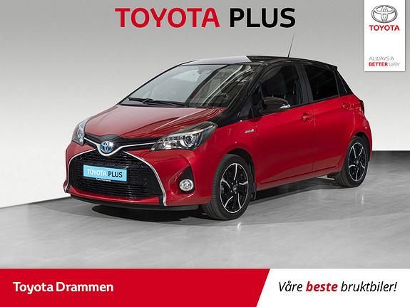 Toyota Yaris 1,5 Hybrid Active BiTone e-CVT  2016, 47515 km, kr 168000,-