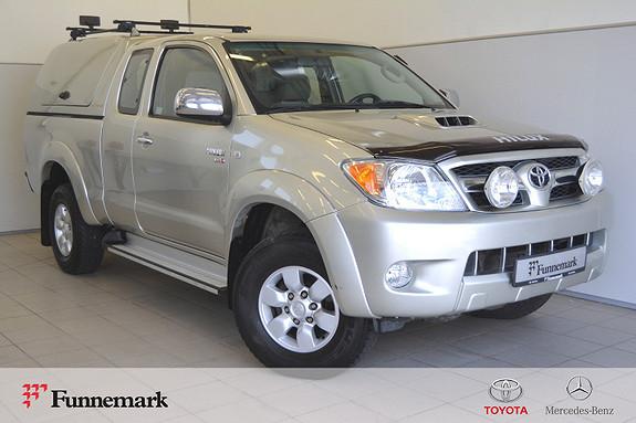 Toyota HiLux D-4D 120hk X-Cab 4wd SR5 Topp, Service, Ekstralys  2007, 164400 km, kr 149000,-