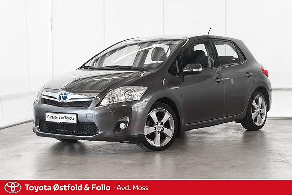 Toyota Auris 1,8 Hybrid E-CVT Executive / LAV KM / VELHOLDT  2012, 44500 km, kr 138000,-