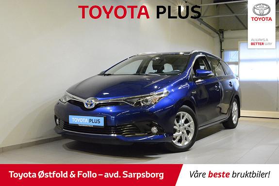 Toyota Auris Touring Sports 1,8 Hybrid Active S , PARK.SENSORER F/B,  2016, 25800 km, kr 225000,-