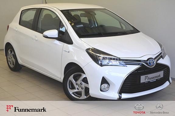 Toyota Yaris 1,5 Hybrid Active S e-CVT // LAV KM // SERVICE //  2016, 22700 km, kr 169000,-