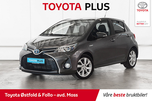 Toyota Yaris 1,5 Hybrid Style e-CVT aut / MYE UTSTYR / LAV KM  2016, 38800 km, kr 178000,-