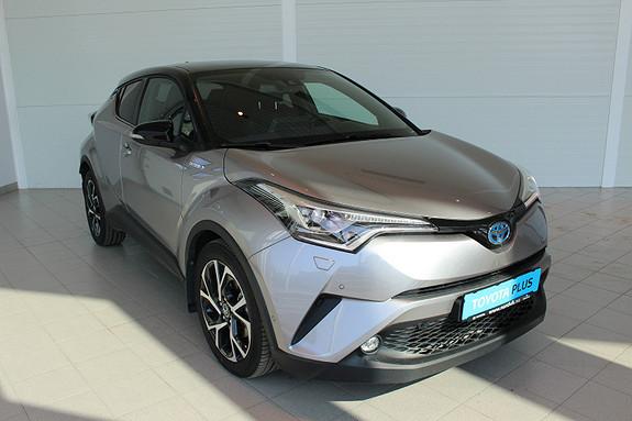 Toyota C-HR 1,8i Hybrid Dynamic Tech JBL, Skinn og parkassistanse  2017, 18296 km, kr 329000,-