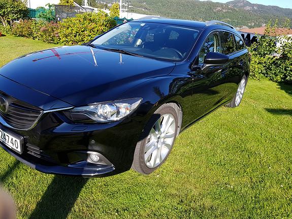 Mazda 6 2,2D 150hk Optimum aut SELGES FOR EN AV VÅRE ANSATTE  2014, 99900 km, kr 219000,-