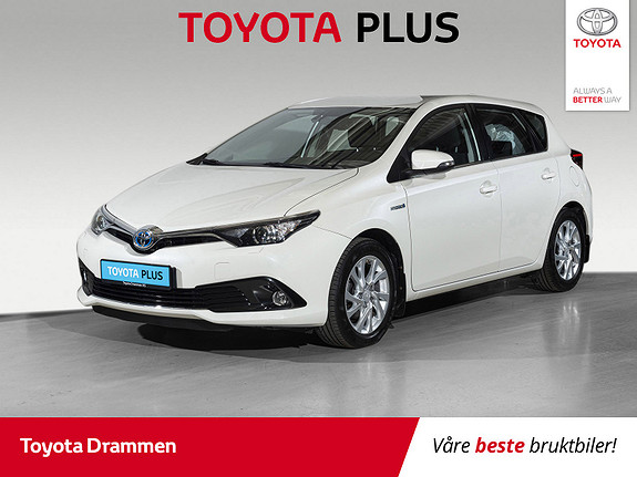 Toyota Auris 1,8 Hybrid E-CVT Active  2016, 34040 km, kr 189000,-