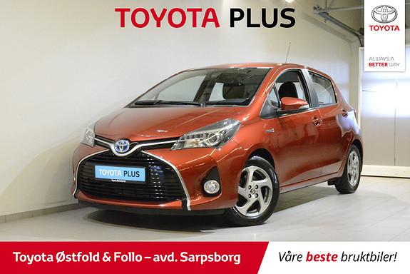 Toyota Yaris 1,5 Hybrid Active S e-CVT , SAFETY SENSE,  2015, 51300 km, kr 149000,-