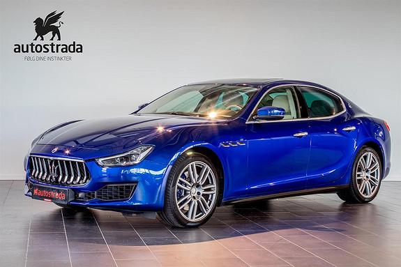 Maserati Ghibli S 350hk , Sportseksos, Navi++  2018, 16000 km, kr 1149000,-