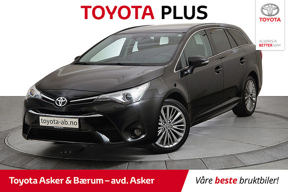 Toyota Avensis Touring Sports 1,8 Active Style M-drive 7S  2016, 36200 km, kr 259000,-