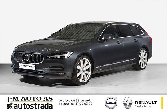 Volvo V90 D4 190hk Inscription aut Særdeles godt utstyrt!  2017, 53000 km, kr 529000,-