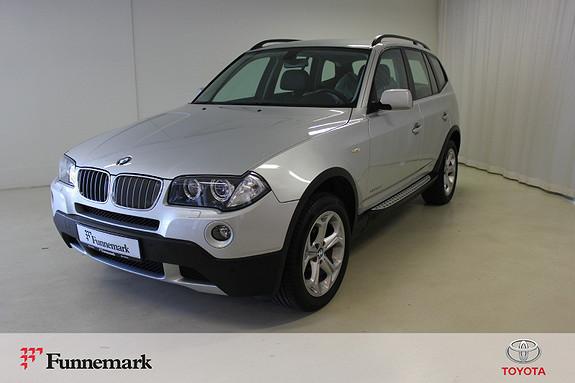 BMW X3 xDrive20d Automat  2009, 135700 km, kr 139000,-