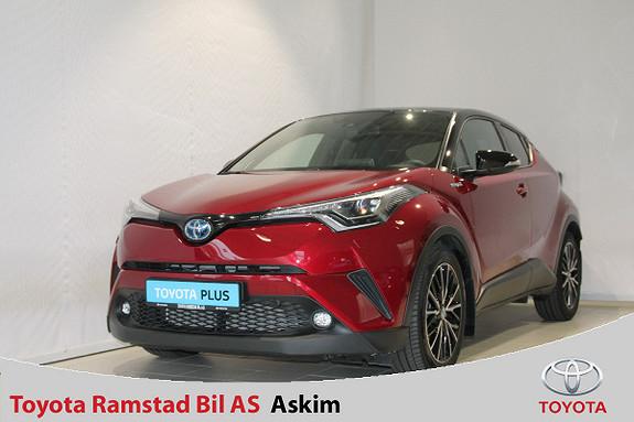 Toyota C-HR 1,8i Hybrid Lounge Tech  2018, 9100 km, kr 349000,-