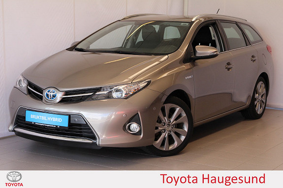 Toyota Auris Touring Sports 1,8 Hybrid Active  2013, 50 960 km, kr 159 000,-