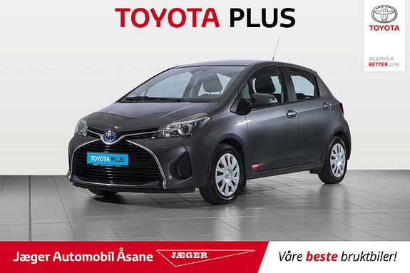 Toyota Yaris 1,5 Hybrid Active S e-CVT  2016, 76700 km, kr 159000,-
