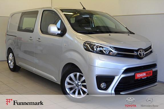 Toyota Proace 1,6 D 116 Comfort L1H1 Krok, Ryggekamera,  2018, 21300 km, kr 279000,-