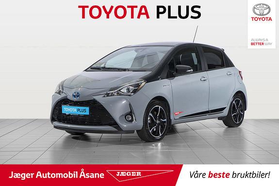 Toyota Yaris 1,5 Hybrid Bi Tone e-CVT aut  2018, 1800 km, kr 229000,-